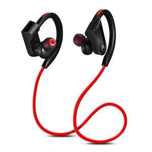 Image 3 - XEDAIN مقاوم للماء سماعة رأس لاسلكية ستيريو بلوتوث سماعات في الأذن بلوتوث سماعة مشغل MP3 مع ميكروفون آيفون