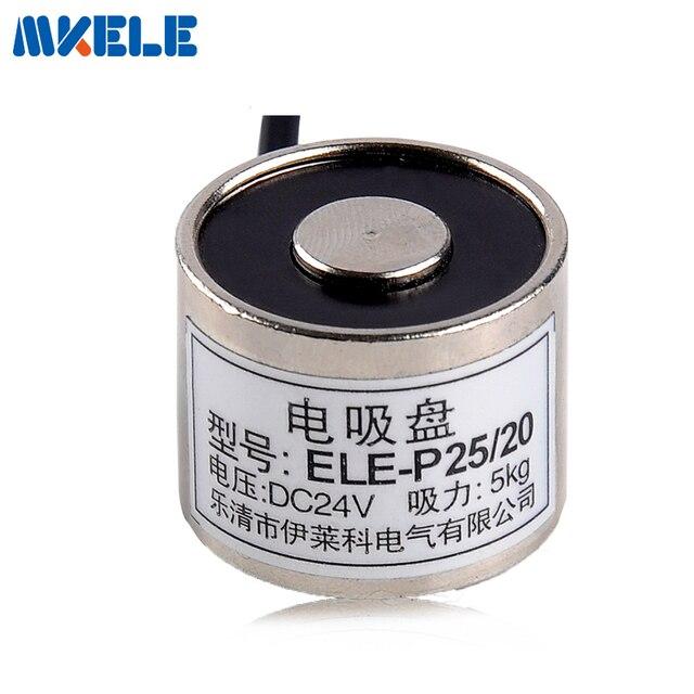 MK25/20 Halten Elektrische Magnet Hebe 5 KG/50N Magnet Sucker ...