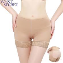 WAIST SECRET Seamless Pants Waist Trainer Postpartum to Stomach Hip Womens Stripe Halter One-piece Padding Swimsuit