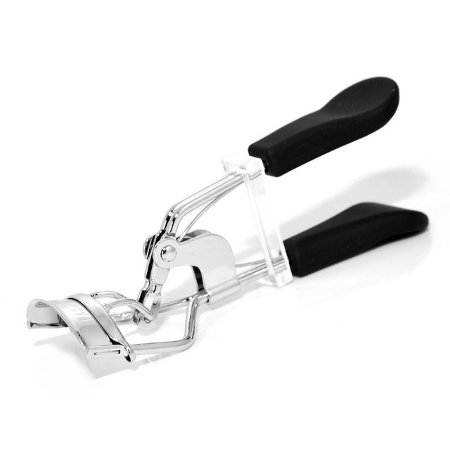 Free shipping! New Brand Quality Fashion Eyelash Curler Clip Stainless steel with handle cosmetics Beauty Tools  Professional