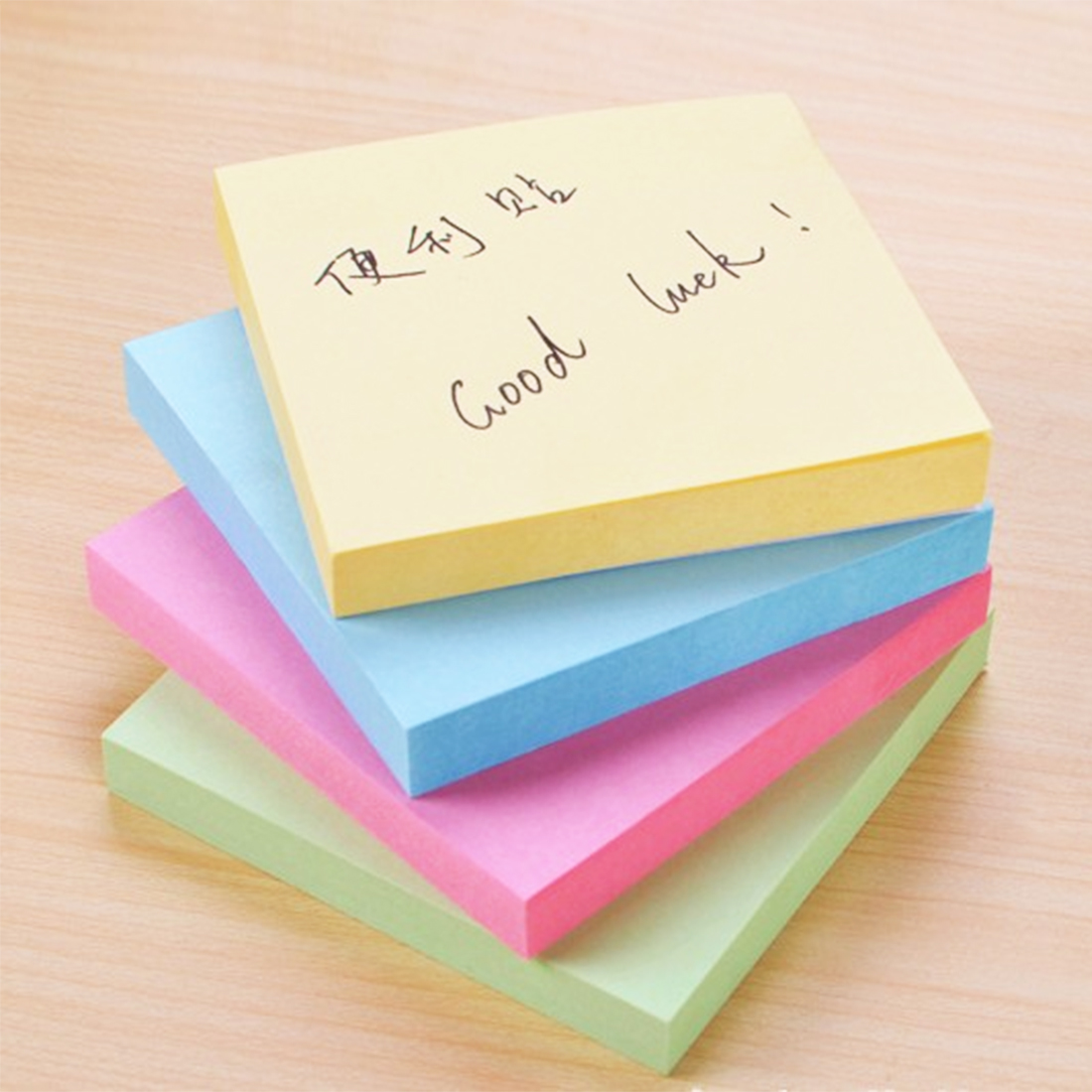 FangNymph Macaron Color Sticky Note Portable Adhesive Paper Post Memo Pad Stationery Office Accessories School supplies