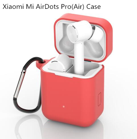 Silicone Case For Xiaomi airdots Pro true Wireless Bluetooth Earphone Shockproof Bags for Xiaomi airdots case cover