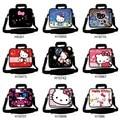"""Gato bonito Olá Kitty Projeto Laptop Notebook Bolsa de Ombro Sling Bag Ultrabook Mensageiro Maleta 10 """"13"""" 14 """"15"""" 17 """"polegadas Para HP"""