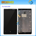 Replacement full screen for Nokia Lumia 920 LCD display with touch digitizer with frame assembly 1 piece free shipping+tools