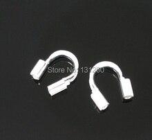 200 шт./лот посеребренные Провода Guardian Провода Защитные 5×5 мм ювелирных изделий Компоненты