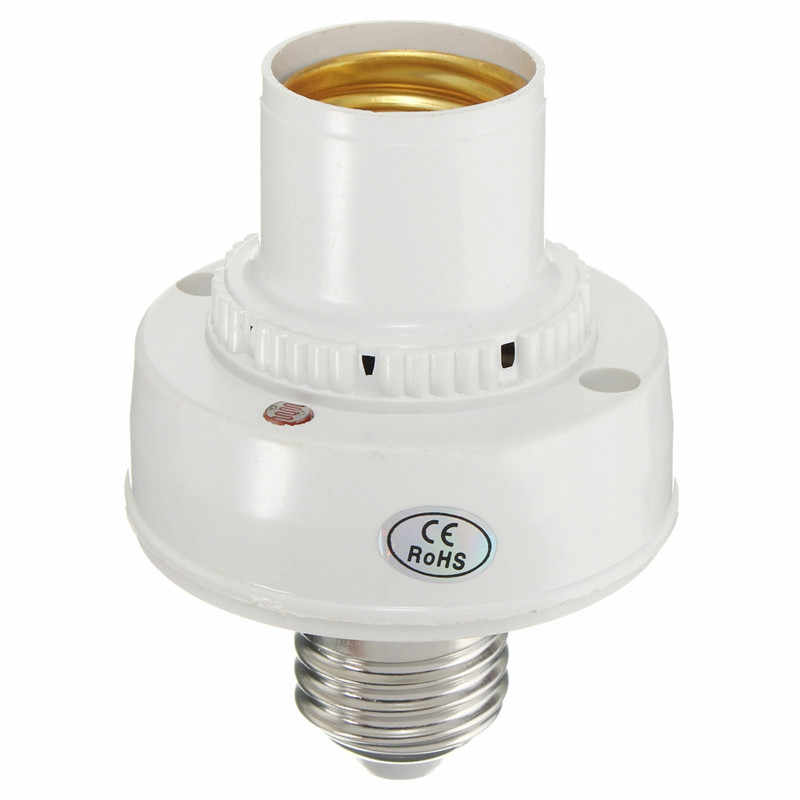 New AC220V E27 LED Light Bulb Base Sound Voice Control Sensor Delay Switch Lamp Holder Adapter Socket Lighting Accessories