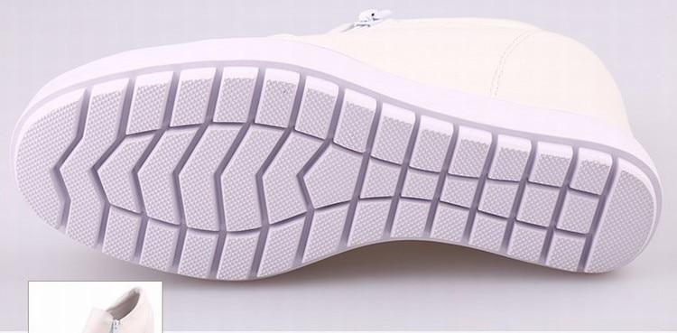 Cuir Véritable Platform Shoes En Femme Croissante Casual Cyabmoz Chaussures White forme Talons Wedge Zapatillas Hauteur Femmes casual Hauts Zapatos Mujer Dames Black Plate UH0qYw