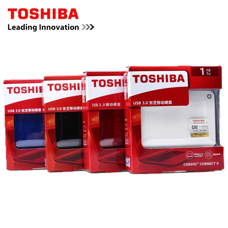 Toshiba Canvio ADVANCE Connect II 2.5 External Hard Drive 500G/1TB/2TB USB 3.0 HDD Hard Disk Desktop Laptop Storage Devices HD