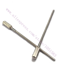 4Pcs ultimaker 2 print head thumb screw Extruder M3 studding bolts nickel plating carbon steel 3d Printer accessory