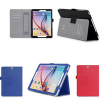 Magnetic Ultra Slim PU Leather Hand Strap Case Cover For Samsung Galaxy Tab S2 9.7 inch Tablet T810 T815C SM-T815