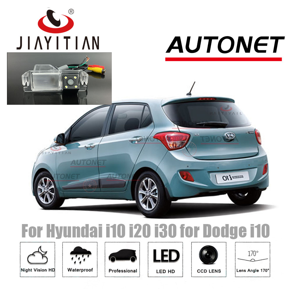 JiaYiTian Rear camera for Hyundai i10 i20 i30 for Dodge i10 CCD Night Vision Back up Parking Reversing Camera/Parking Assistance dto i10 69s pro