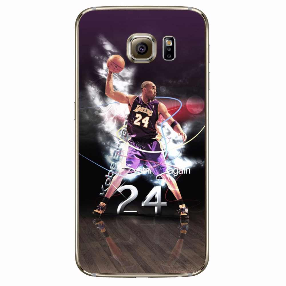 0cad187f6430 ... ciciber Phone Cases Basketball Curry Harden Kobe For Samsung Galaxy S7  S9 S6 Edge S8 Plus