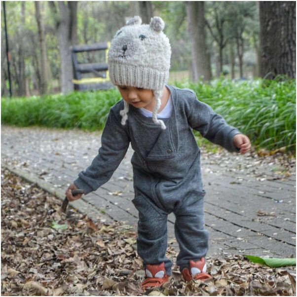33ad53ac51066 US $6.25 20% OFF New Baby Boys Autumn Winter Romper Toddler Infant Baby  Boys Zip Up Romper Jumpsuit Playsuit Outfits Clothes 0 24M -in Rompers from  ...