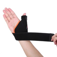 Sports Wrist Thumb Support Straps Wraps Bandage Adjustable Anti Spraine Wrist Protector for Left / Right Hand 1pair weight lifting sports wristband gym wrist thumb support straps wraps bandage fitness safety hand massage health care z1180