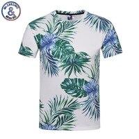 CHAUDE 2018 Fleurs T-shirts Femmes/Hommes D'été Tops T-shirts Impression vert feuilles Et Fleurs 3d T shirt Hommes De Mode T-shirts Plus M-4XL
