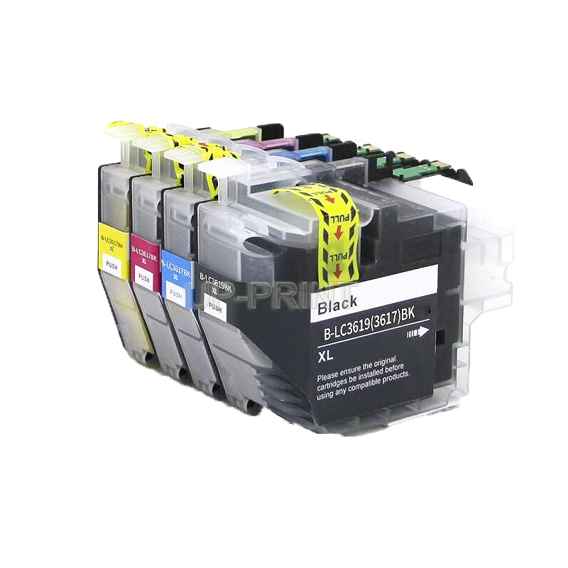 UP 8x LC3619 LC3617 LC3619XL Ink Cartridges Compatible For Brother MFC J2330DW J2730DW J3530DW J3930DW printer