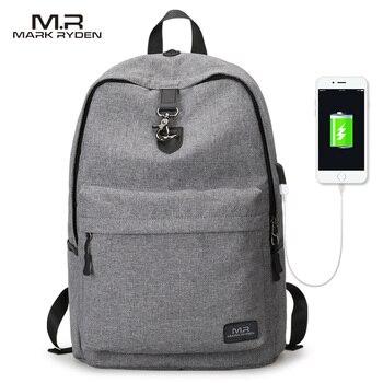 Mark Ryden Новые поступления четыре цвета USB дизайн рюкзак для мужчин мужской студенческий вместительные рюкзаки >> MARK RYDEN Official Store
