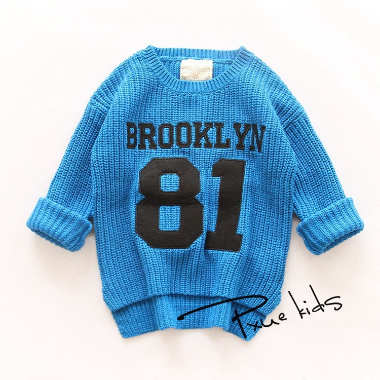 Baby Clothing Boys Girl Knitted Sweater Spring Autumn Wear Long-Sleeve Sweaters Boy Girls Winter Cardigan Outerwear Pullovers