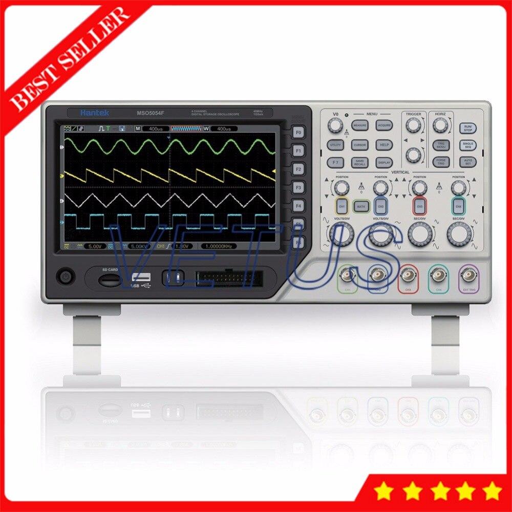 Hantek MSO5054F 1GSa/s Digital Scopemeter 4 Channel Oscilloscope with 8 Channles 500MHz Logic Analyzer мультиварка sinbo sco 5054