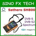 2017 original Sathero SH-800HD DVB-S2 Digital Satellite Finder Meter HD Output with Spectrum Analyzer Sathero SH 800HD