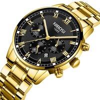NIBOSI New Watch Men Sport Quartz steel Watches Fashion Casual Watches Male Clock Wrist Watch Relogio Masculino Zegarek Meskie