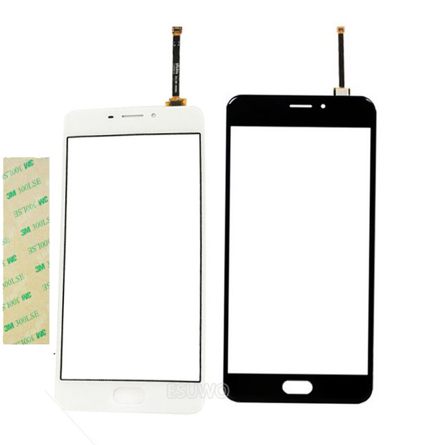"5.5"" Mobile Phone Touch Panel For Meizu M5 Note ouch Screen Digitizer Front Touchscreen Panel Sensor Free Shipping"