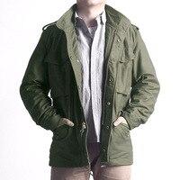 Прочитайте описание! Азиатский размер reissue ручной классический M65 армии США куртка