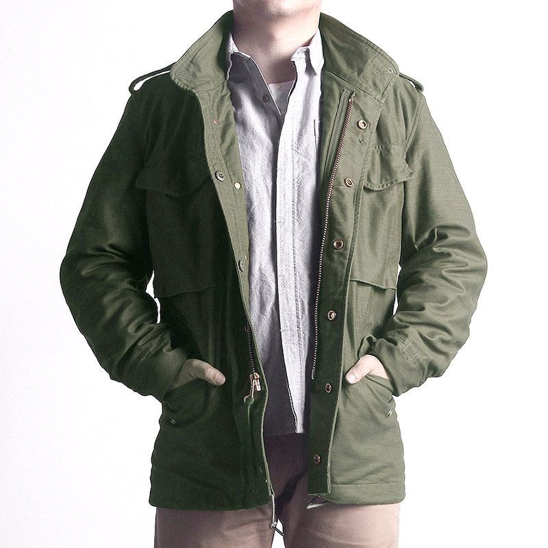 Read Description!  Asian Size Reissue Hand-made Classic M65 US Army Jacket