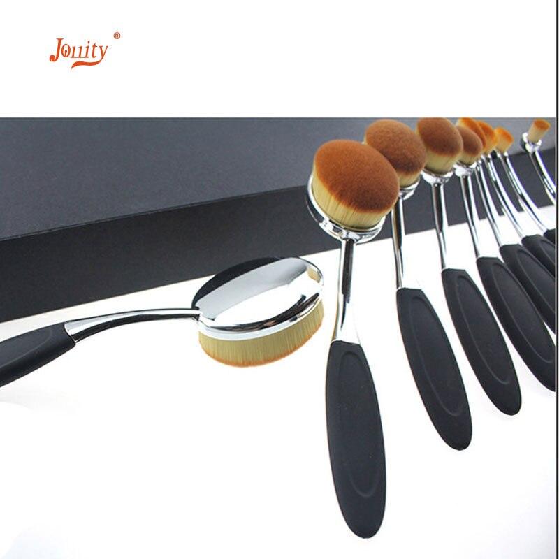 jollity 10pcs Women Makeup Brush Set Cosmetic Blending Blush Foundation Powder Eyeshadow Eyeliner Lip Beauty Make Up Brush Tools