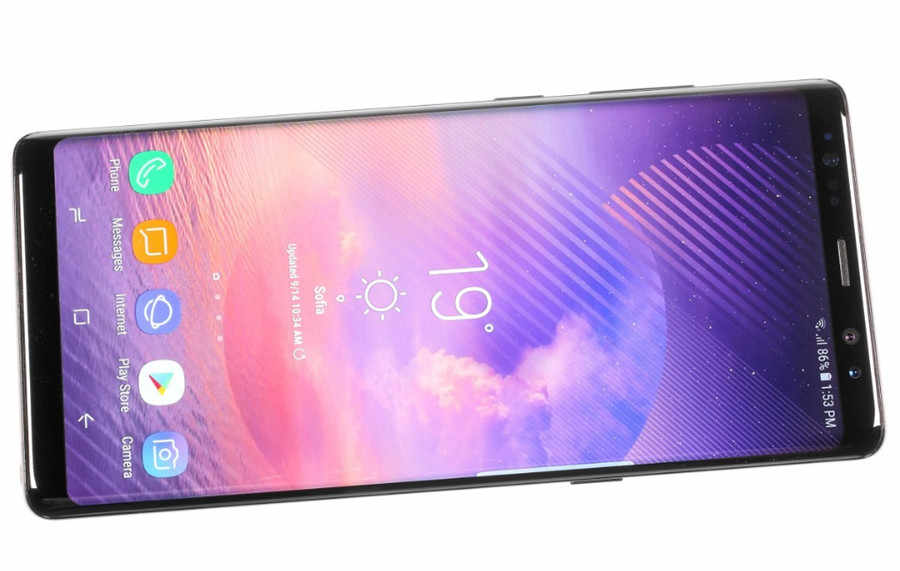 """Samsung Galaxy Note8 Note 8 N950U Original Unlocked LTE Android Cellphone Octa Core 6.3"""" Dual 12MP 6G RAM 64G ROM Snapdragon 835"""