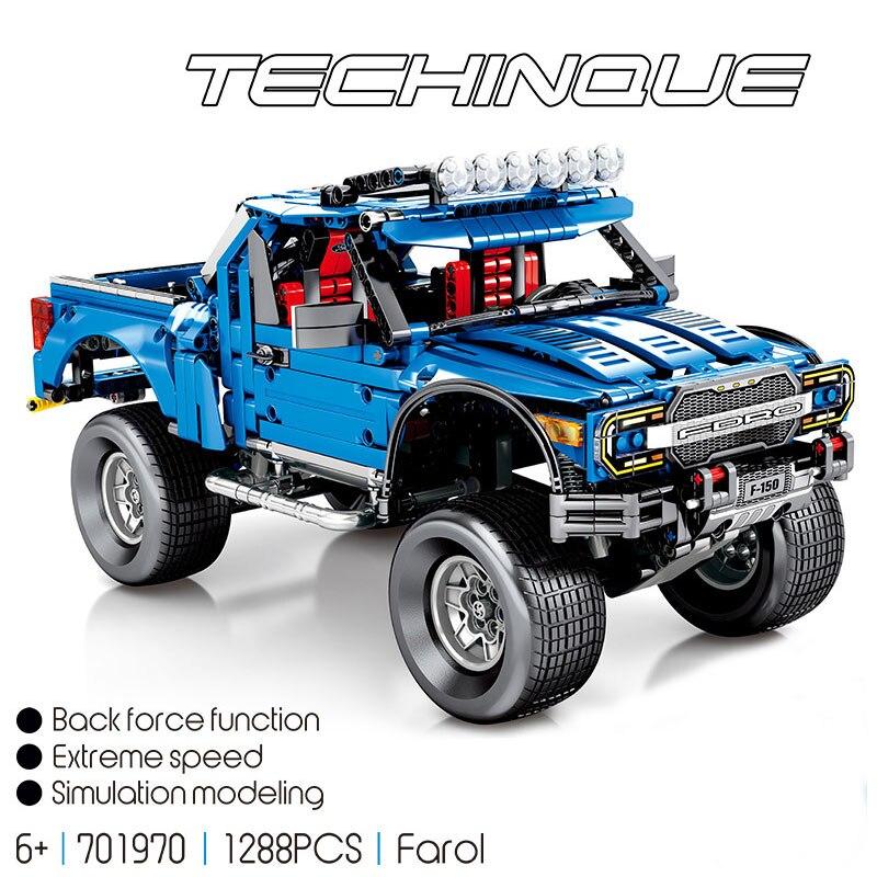 Technic Series 701970 nouveau le F-150 Raptor pick-up modèle blocs de construction Set jouets classiques pour les enfants