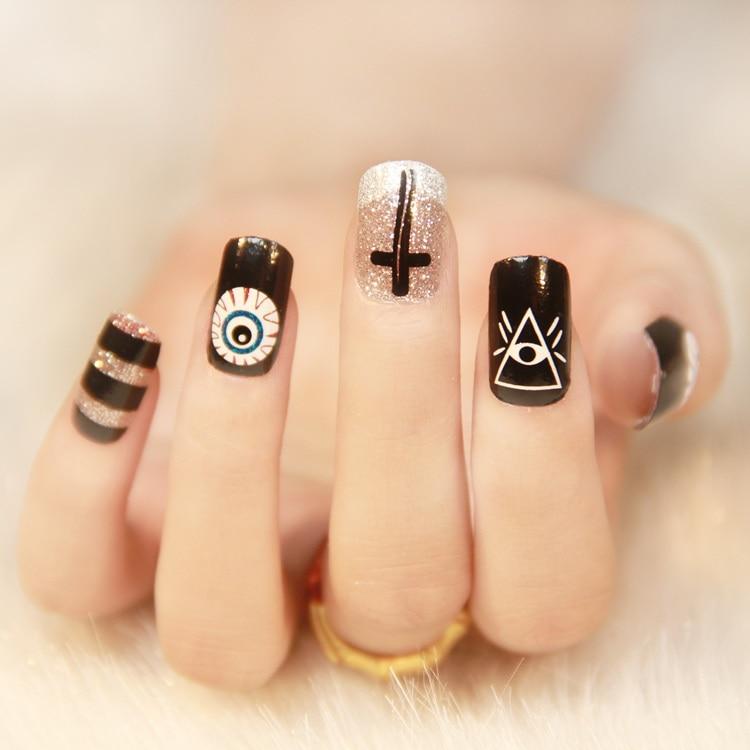 Minx nail etiqueta engomada del arte del clavo que labra la ...