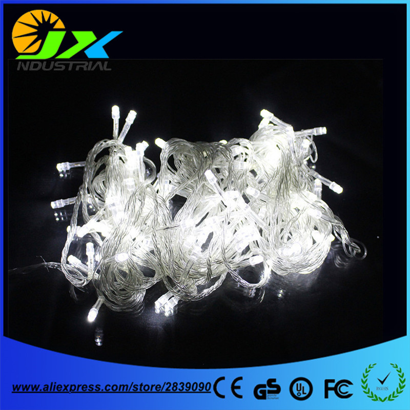 Warm White 50M 500 LED String Lighting Wedding Fairy Christmas Lights Outdoor Twinkle Christmas Decoration Outdoor EU/US
