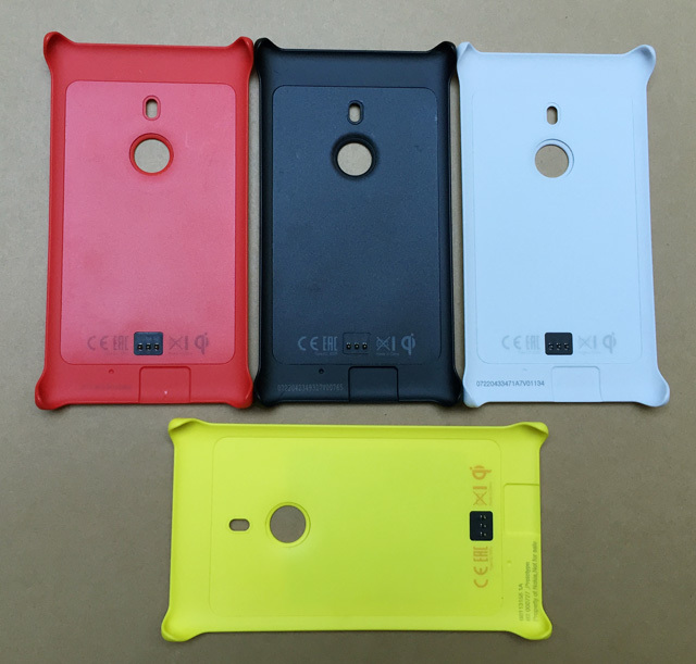 Original Wireless Charging Cover Cc 3065 For Nokia Lumia 925 On