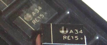 100% Original New MBRA340T3G A34 SMA Schottky Power Rectifier IC  x 1000PCS Connector