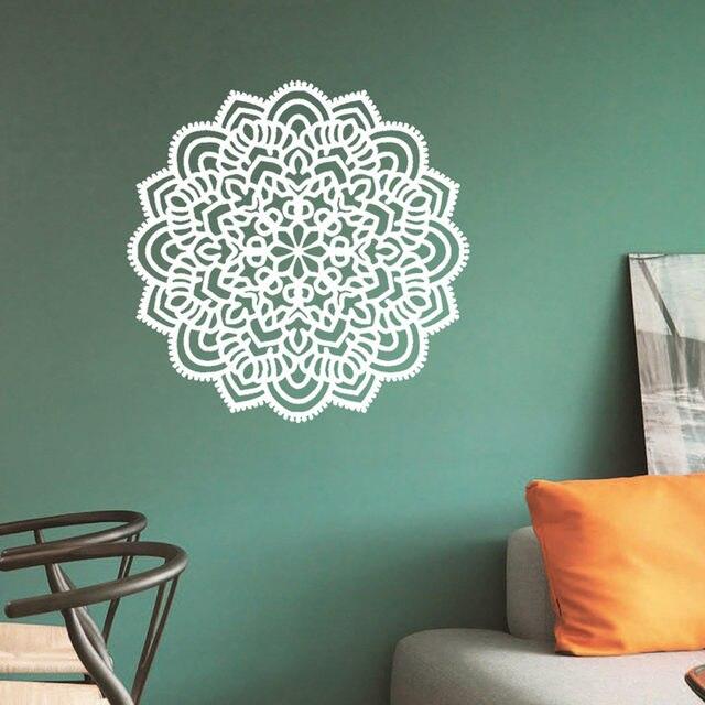 Online-Shop 3d wandaufkleber Poster Indische Mandala-blume ...