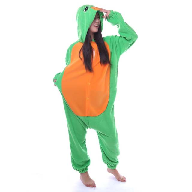 e24aaa003e95 placeholder Animals Sea turtle Onesie Costume Green Turtle Tortoise For  Adult Women Men s Pajamas Halloween Christmas Party