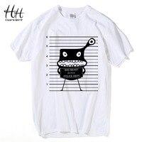 Zła bestia hanhent nowy projekt koszulki man's lato bawełna nakrywa trójniki kreatywny zwierząt drukowane koszulki fitness th5363 clothing