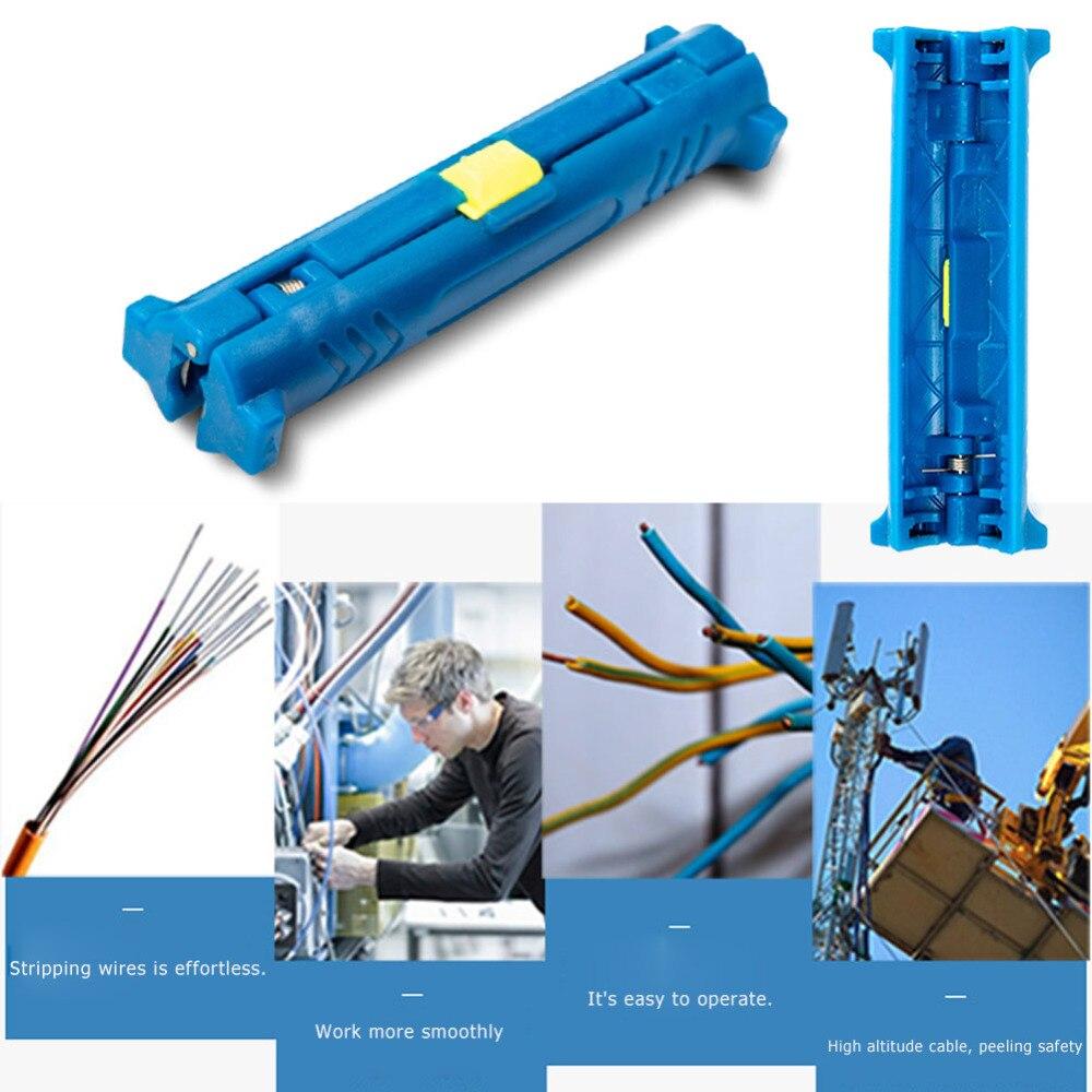 Werkzeuge Handwerkzeuge Werkzeug Multifunktions Rotary Coax Koaxialkabel Draht Stift Cutter Stripper Maschine Cutter Stripping Zange Werkzeug Für Kabel Stripper Moderater Preis