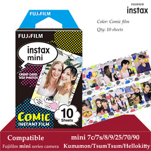 Image 1 - Fujifilm Instax מיני סרט קומיקס 10 גיליונות עבור Instax מיני 9 8 7 s 7c 70 90 25 מיידי Polariod מצלמה Smartphone מדפסת SP2 1