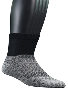 Image 2 - Mens 4 Pairs Bamboo Diabetic Ankle Socks with Seamless Toe And Cushion Sole,L Size(Socks Size:10 13)