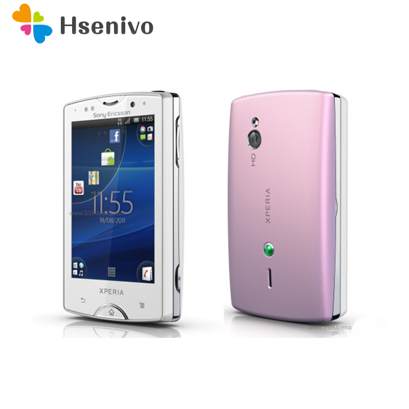 ST15 Original unlocked Sony Ericsson Xperia Mini Mobile Phone ST15i 3G WIFI GPS 3MP Camera Android 4.1 Cell Phone Free shippin