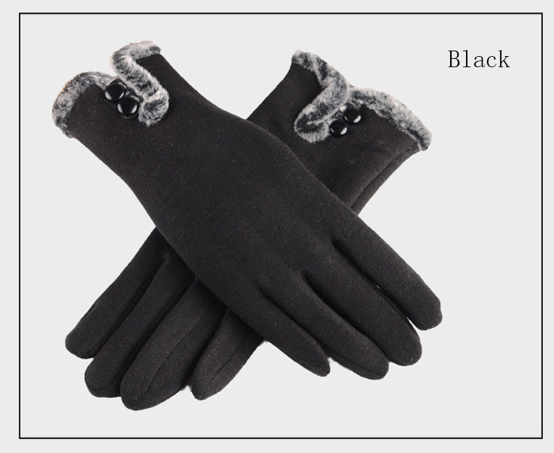 Comfortable and Warm Non Inverted Touch Screen Gloves for Women with Sensitive Touch Screen Function without Hand Exposing to Cold 24