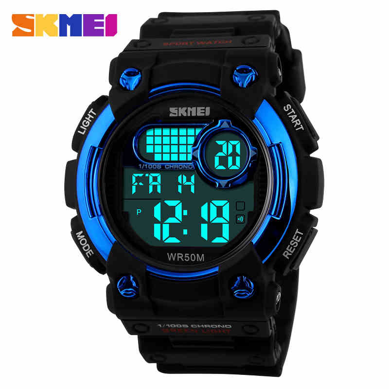 Relogios Masculinos SKMEI Brand Outdoor Sports Watches Waterproof Men LED Digital Watch Military Mens Electronic Sports Watches