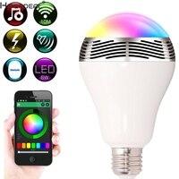 HIPERDEAL Smart House LED RGB Color Bulb Light E27 Bluetooth Control Music Audio Speaker Lamps