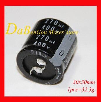 400v 270uf 100% Original nuevo NCC condensador electrolítico de capacitancia Radial 25x46mm 30x30mm