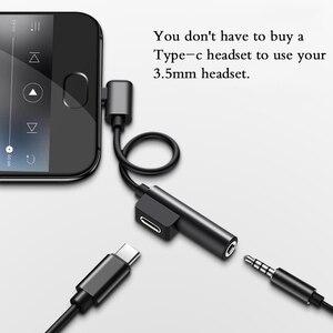 Image 4 - USB Type C To 3,5 Jack гарнитура конвертер USB Otg Type C USB 3,0 C кабель удлинитель зарядного устройства