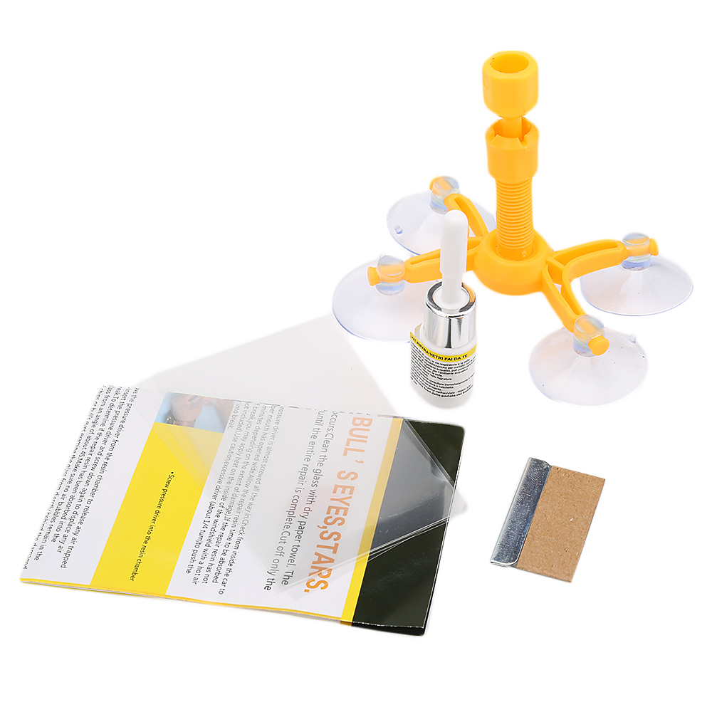 Window Repair Kit | Windshield Repair Kits DIY Car Window Repair Tools Glass Scratch Windscreen Crack Restore Window Car Glass Repair Kit