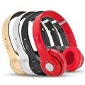 De moda de alta calidad auriculares bluetooth con cable + auriculares inalámbricos y auriculares con micrófono y auriculares tarjeta tf para el teléfono