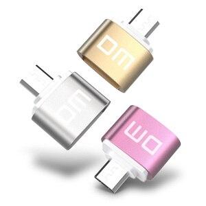 Image 3 - Adaptador DM OTG B función OTG convertir USB normal en teléfono USB Flash Drive adaptadores de teléfono móvil